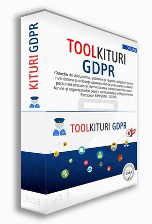 Kit GDPR | TOOLKIT GDPR pt DPO | Implementare GDPR | Registre Obligatorii | Politici si Proceduri GDPR