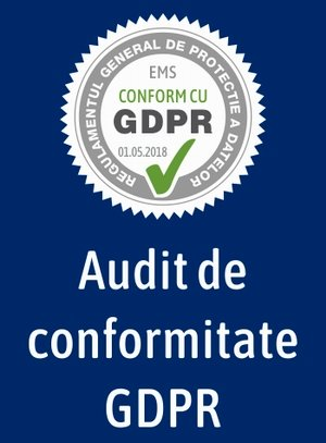 Audit de conformitate GDPR